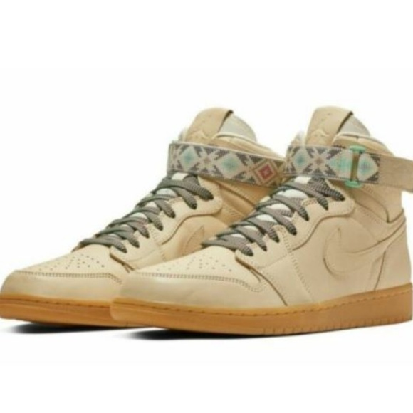 1152c5bae7d Men s Air Jordan 1 Retro Hi Strap N7 Light Cream. NWT. Nike